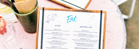 How To Design Your Restaurant Menu