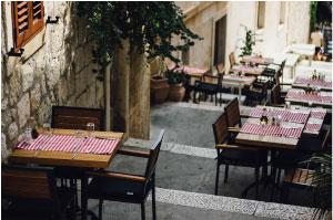 restaurant exterior view