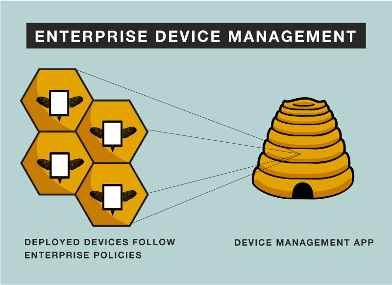 enterprise device management infographic