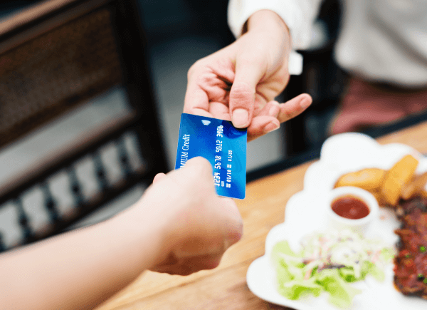 Pre-authorize credit cards with our Bar POS