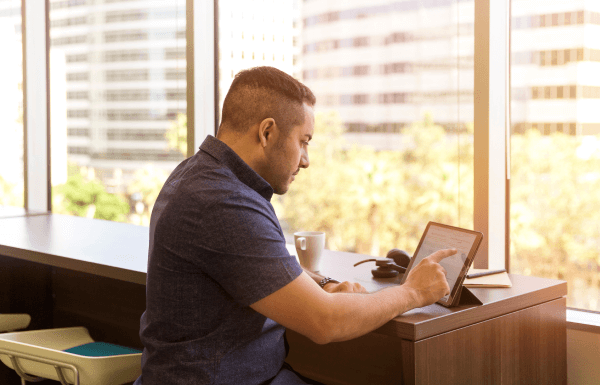 Using the backoffice