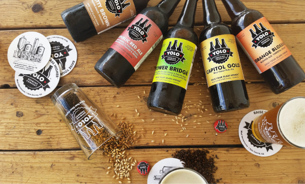 Yolo Brewing company beers