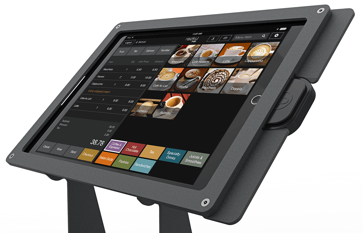 Coffee Shop Mobile Point of Sale System