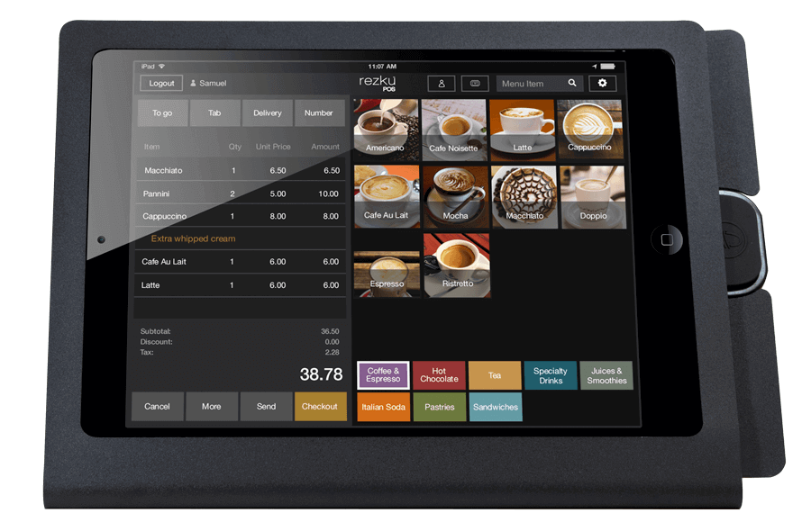 Cafe Point of Sale System