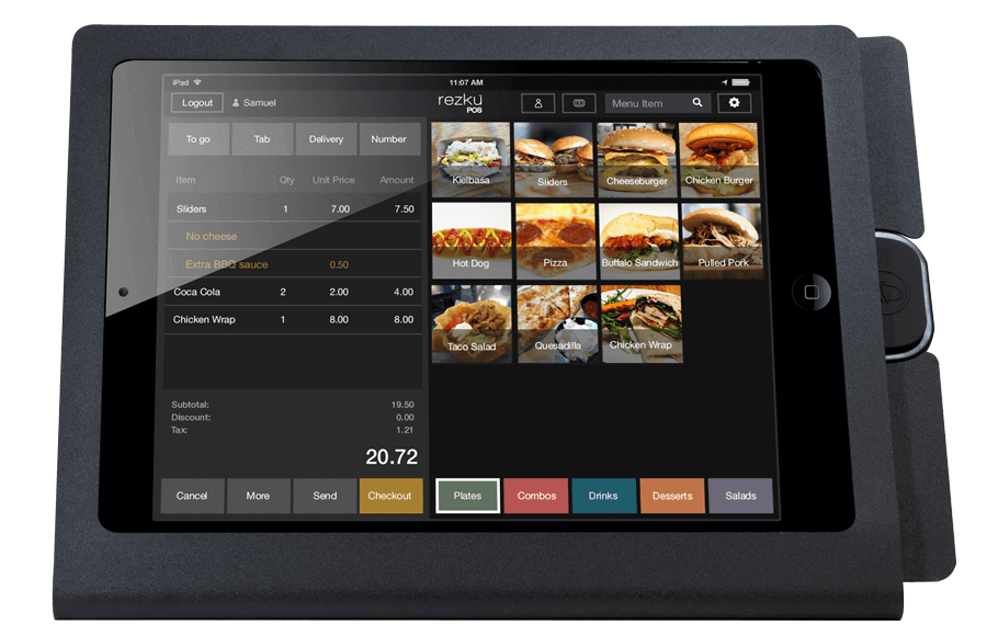 Rezku Quick Service Restaurant Point of Sale System