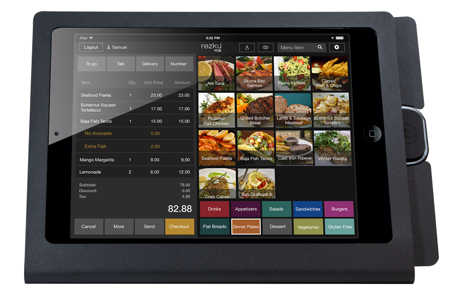 Restaurant iPad Point of Sale