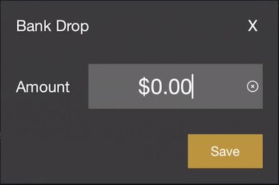 bank drop form