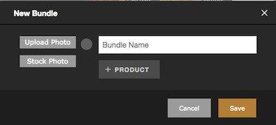 rezku pos adding a new bundle form