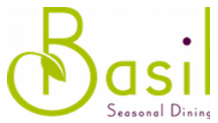 Basil Seasonal Dining Logo Rezku Prime Customer